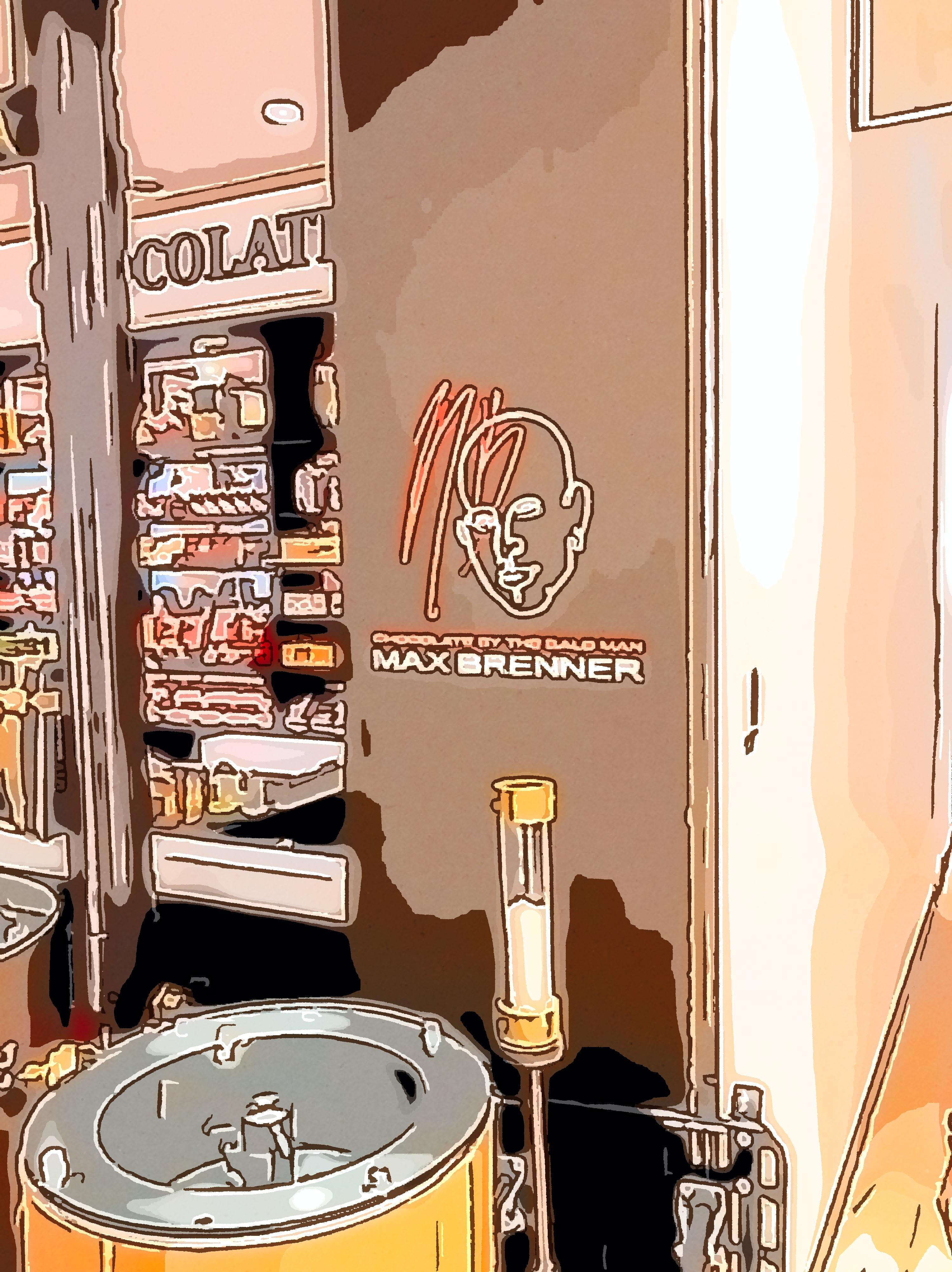 マックス ブレナー チョコレートバー