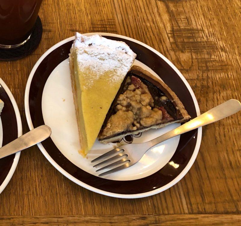スイートポテト マーマレード パイ と いちじくとヌテラのガレット