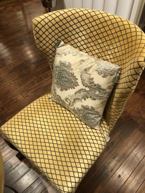 ゆったりとした椅子