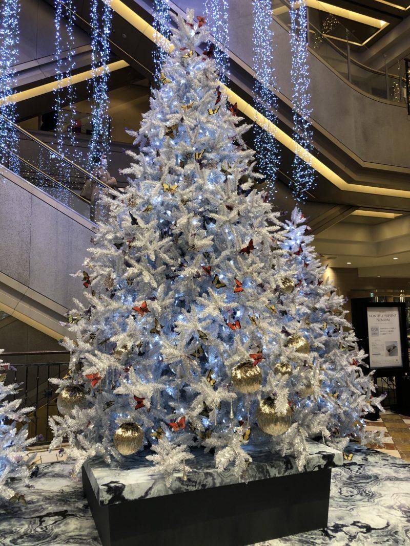 ハービスプラザのクリスマスツリー