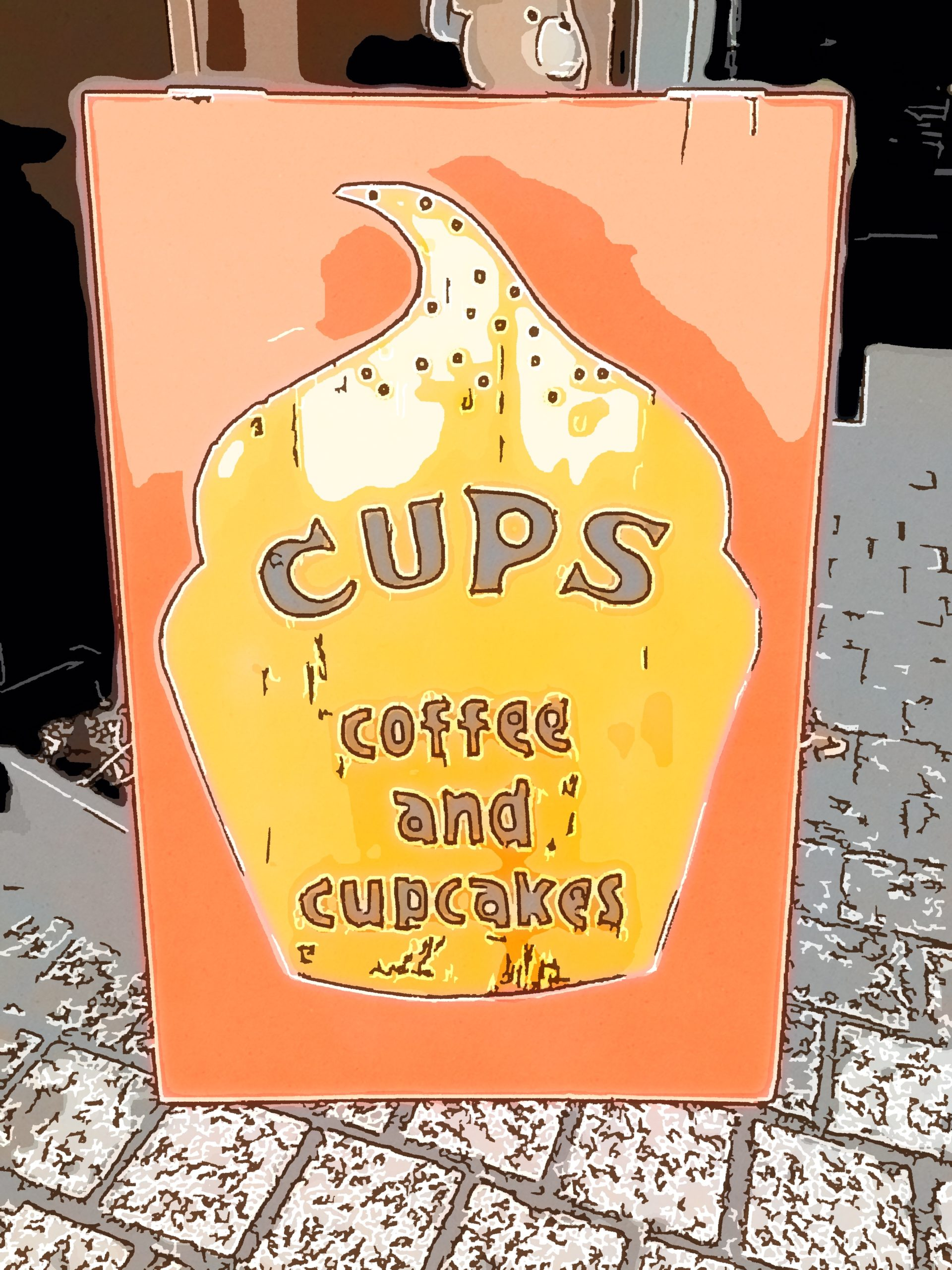 CUPS coffee & cupcakes