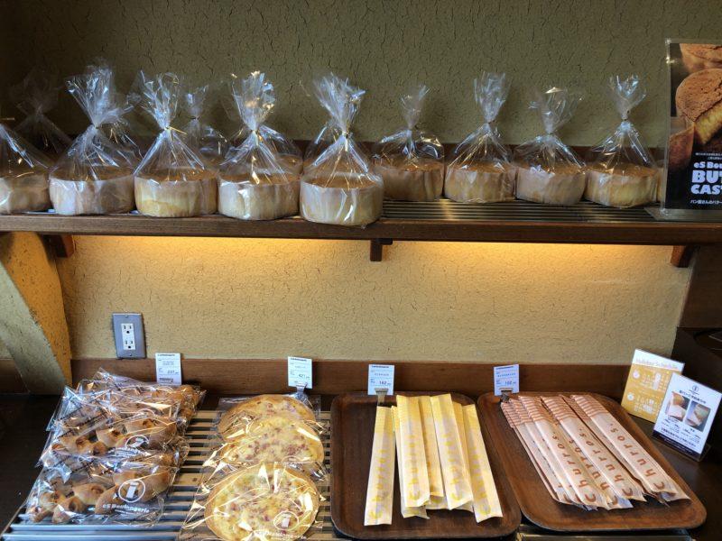 大きなサイズのパンはこちらに