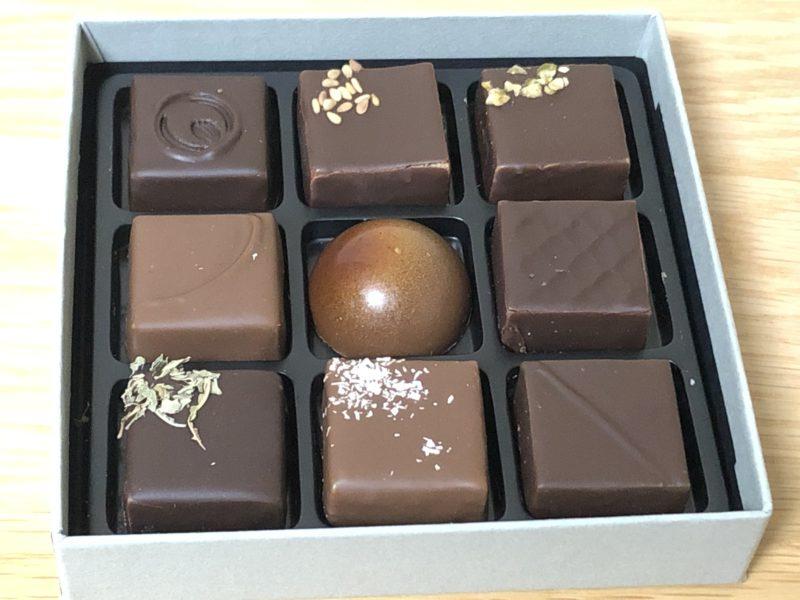 ショコラトリー ヒサシ のボンボン・ショコラ