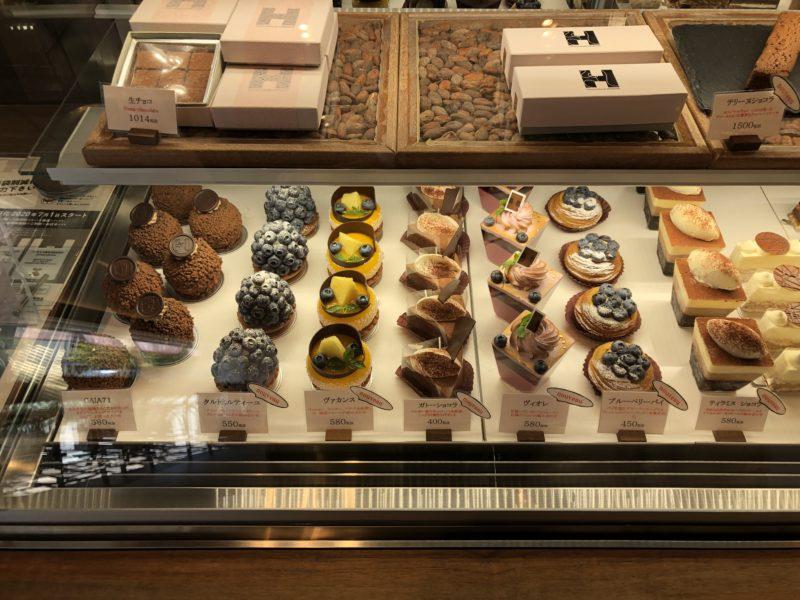 ショコラトリー ヒサシ (Chocolaterie HISASHI) ケーキのショーケース