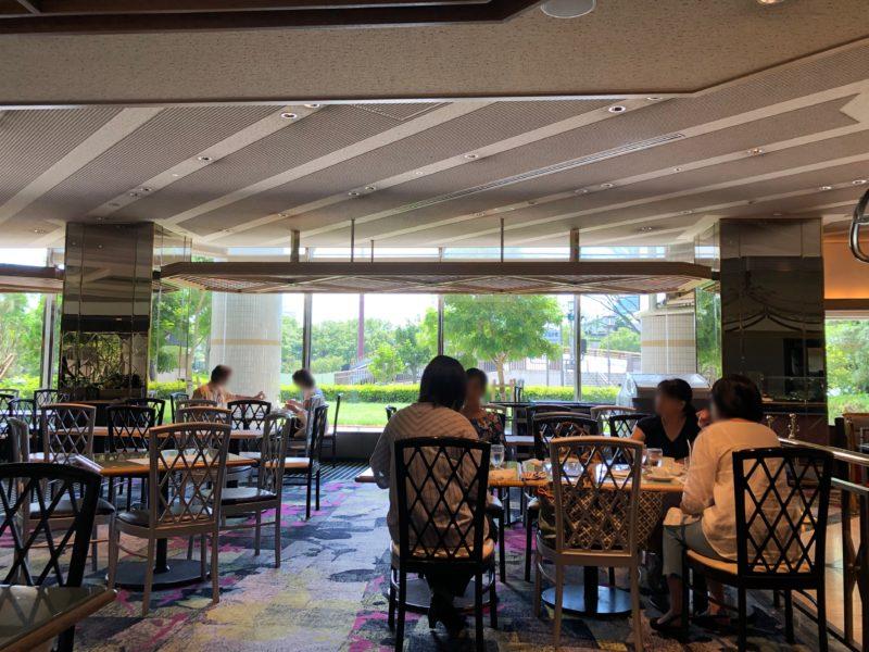 SATSUKIのカフェスペース