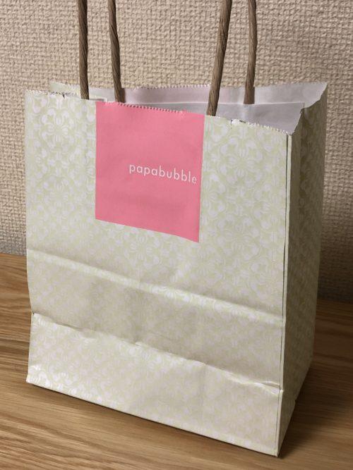 パパブブレ (PAPABUBBLE) の紙袋