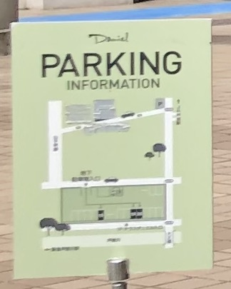 テラス ダニエルの駐車場