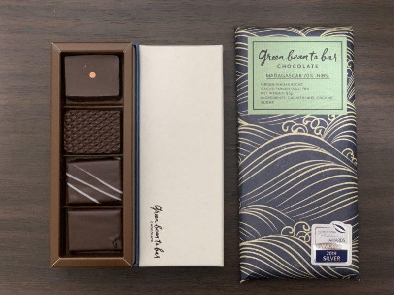 green bean to bar CHOCOLATE 【京都 新風館】のボンボン・ショコラ