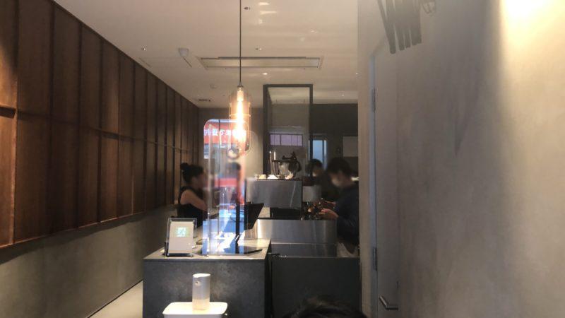 モトコーヒー 内本町店のカフェスペース