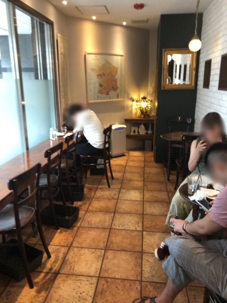 パティスリーエス ( Patisserie-S ) のカフェ
