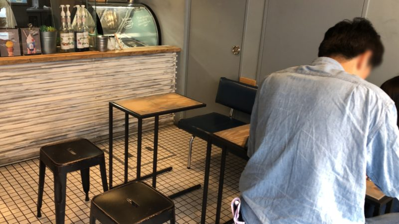 Groovy Ice Cream グーフォ(GUFO) のカフェ