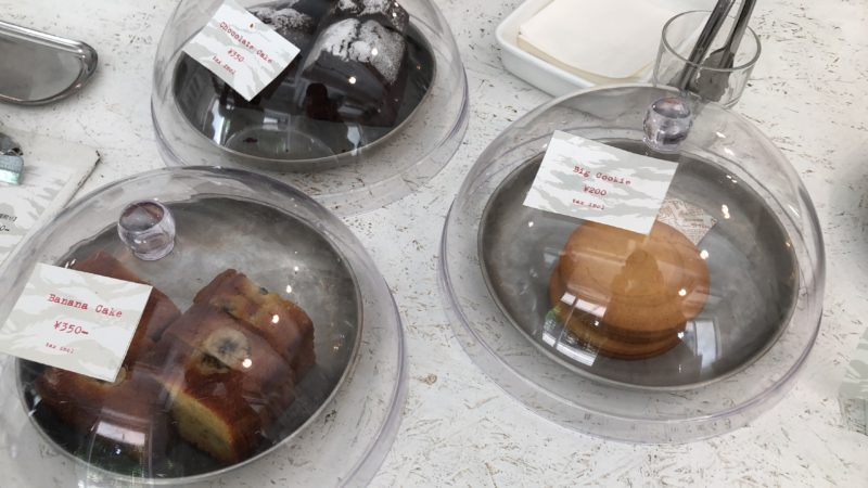 Walden Woods Kyoto のケーキ