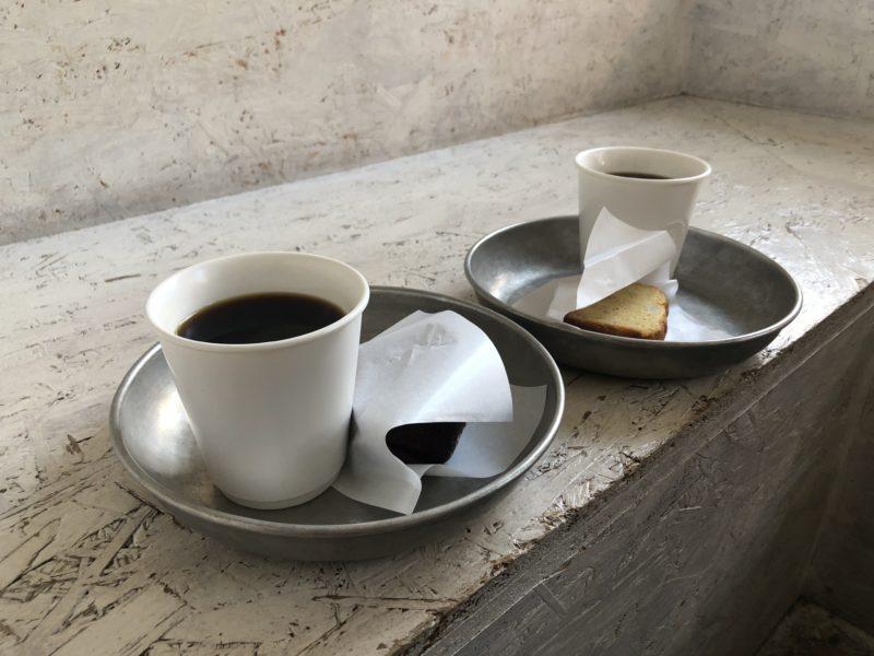 Walden Woods Kyoto のコーヒーとケーキ