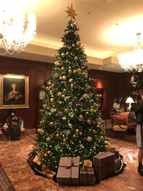 ザ・リッツ・カールトン大阪 のクリスマスツリー