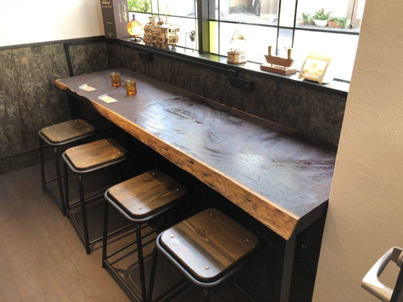 浪漫焼き芋 芋の巣 のカフェスペース