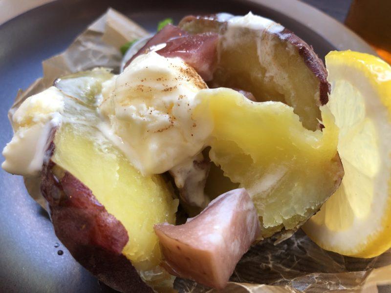芋の巣 の 焼き芋