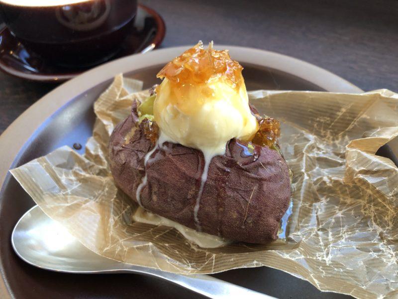 芋の巣 の コムハニーアイス焼き芋