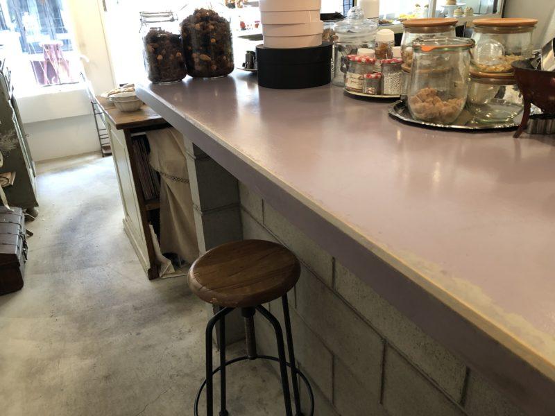 パティスリー ブーケ (patisserie bouquet) のカフェスペース