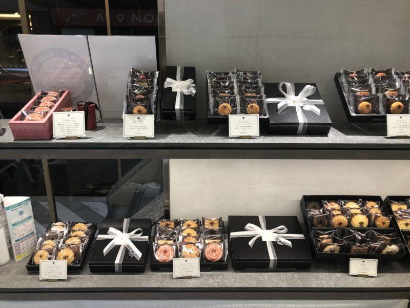 ポアール・ド・ジュネス 堂島 の焼き菓子