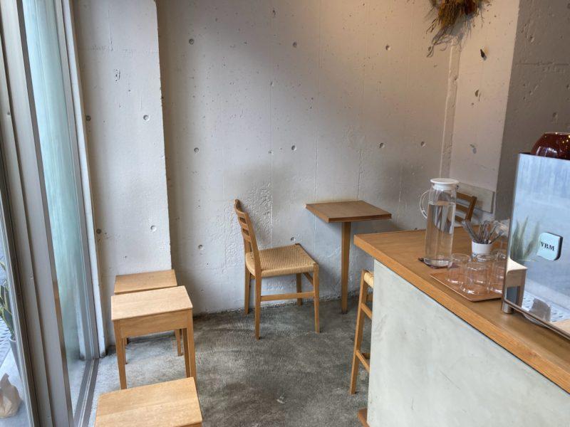 タワニコ (Tawanico) のカフェスペース