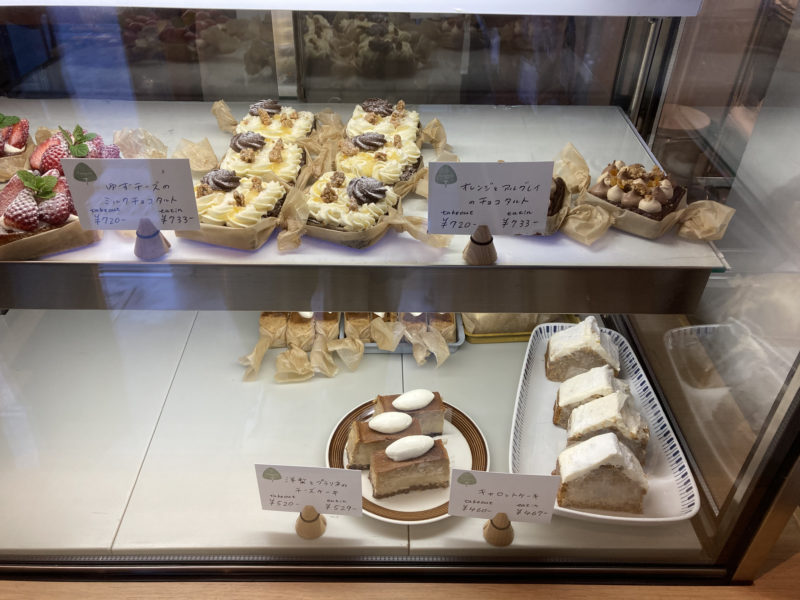 タワニコ (Tawanico) のケーキ