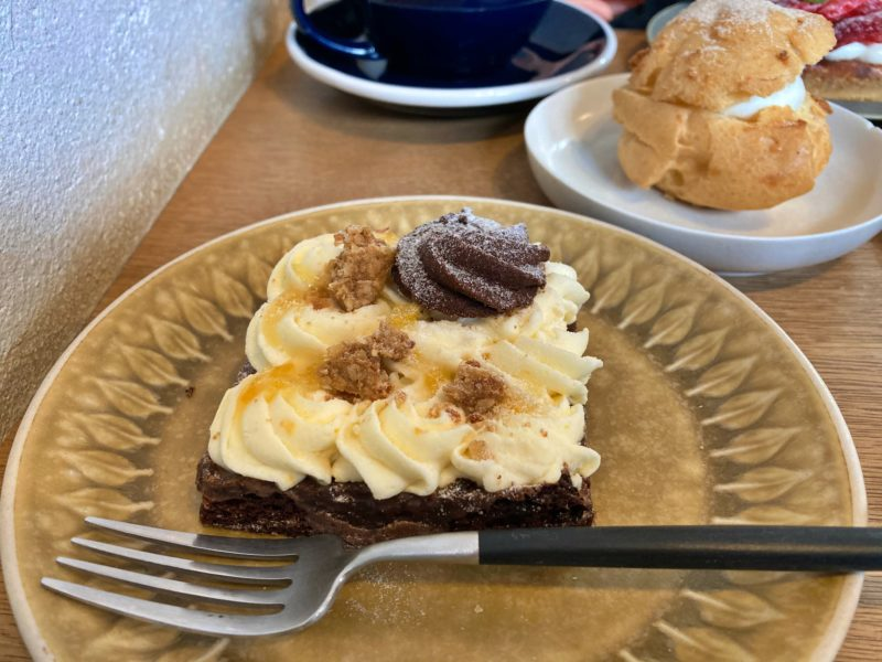 タワニコ (Tawanico) のゆずチーズのミルクチョコタルト