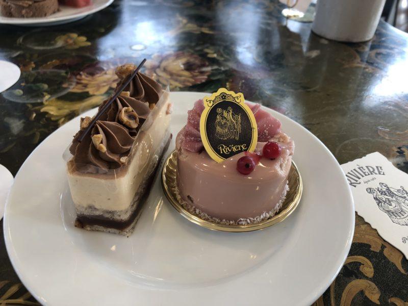 リビエール (Riviere) のケーキ