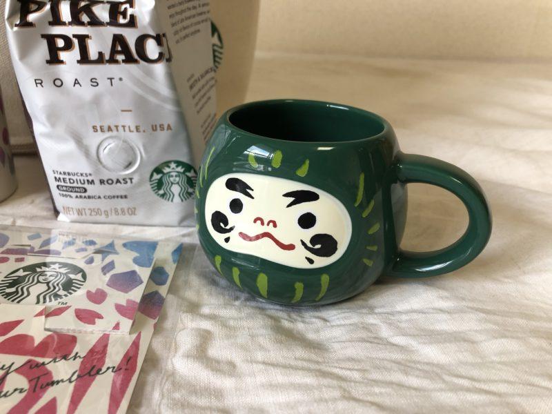 ダルマさんのマグカップ