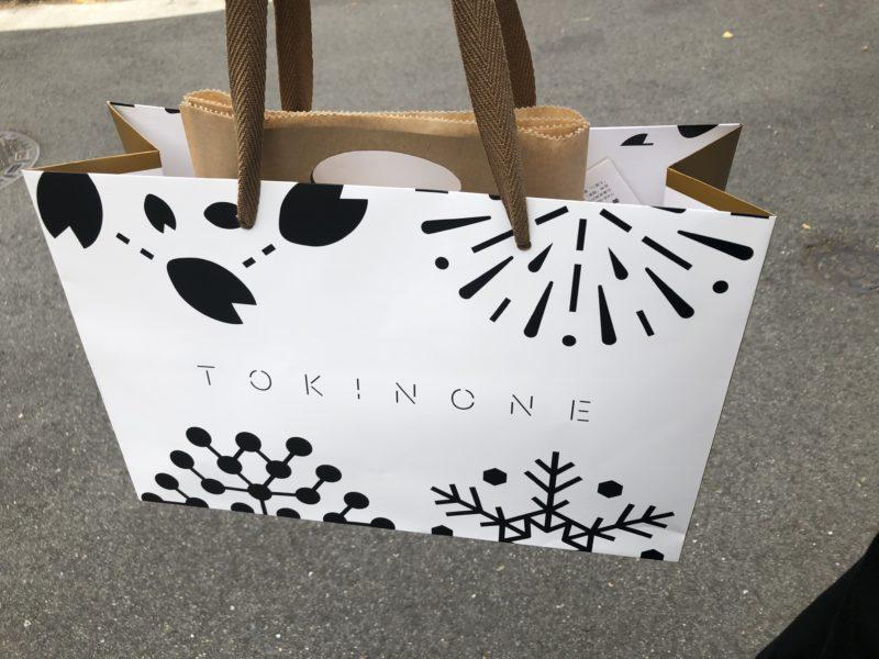TOKINONE ~旬の音~ の紙袋