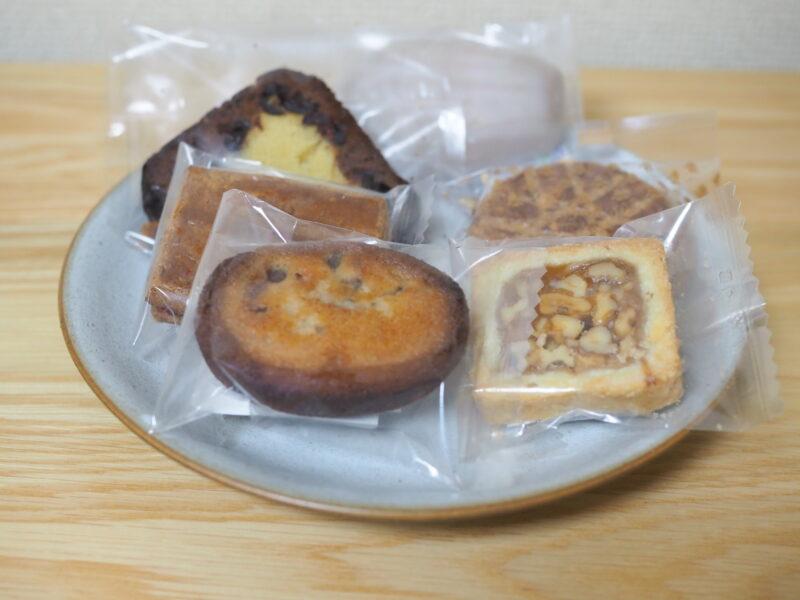 ドゥブルベ・ボレロ で購入した焼き菓子