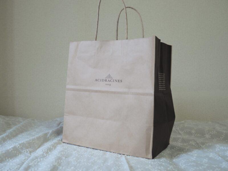 アシッドラシーヌの紙袋
