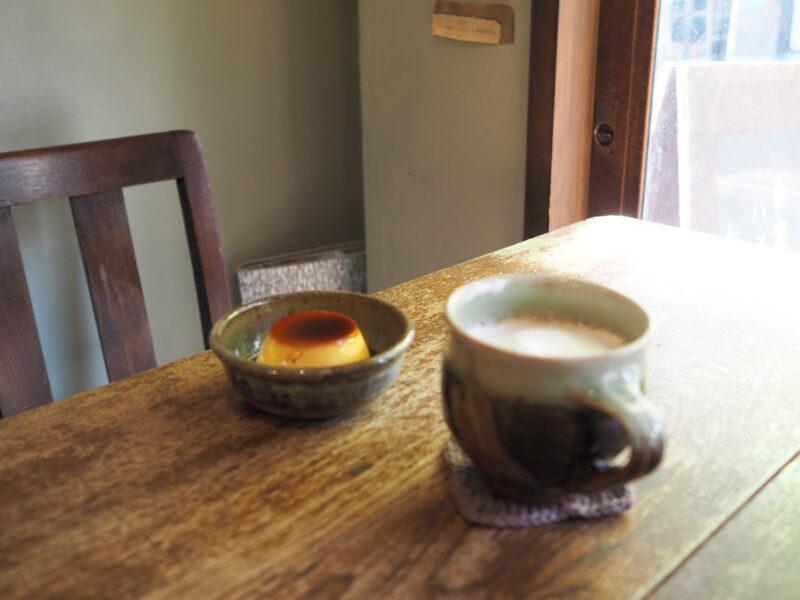カフェ オ レ と プリン